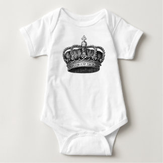 Vintage Crown Infant Creeper