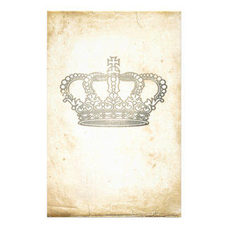 Vintage Crown Stationery