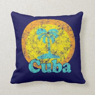 Vintage Cuba Logo Pillow