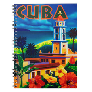 Vintage Cuba Travel Spiral Notebooks