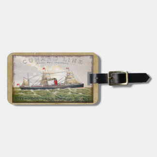 Vintage Cunard Line Royal Mail Steamers Luggage Tag