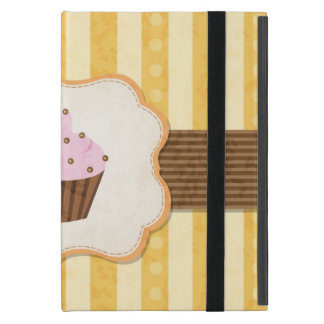 Vintage Cupcake Background Cover For iPad Mini