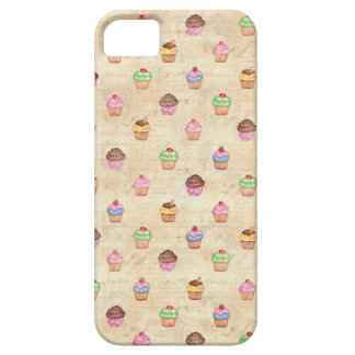 Vintage Cupcakes iPhone 5 Case