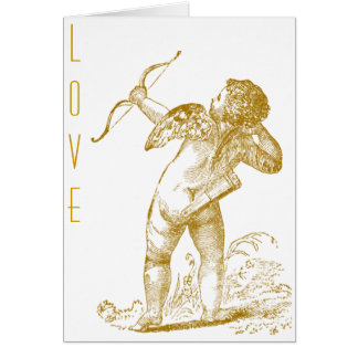 Vintage Cupid Card