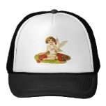 Vintage Cupid on Lily Pad Hats