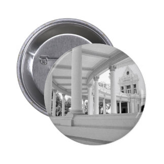 Vintage Curved Colonnade Pinback Button