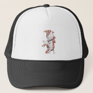vintage cute parrots and animals trucker hat