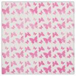 Vintage cute pink watercolor butterflies pattern. fabric