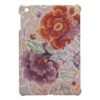 Vintage Czechoslovakian Floral Cover For The iPad Mini