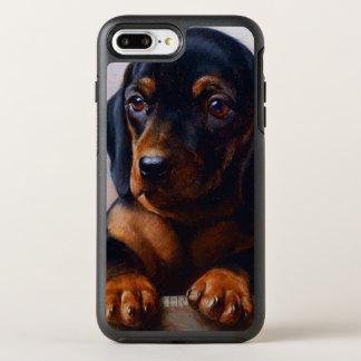 Vintage Dachshund OtterBox Symmetry iPhone 8 Plus/7 Plus Case