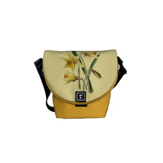 Vintage Daffodils Graphic Commuter Bag