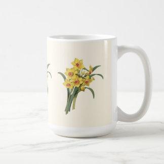Vintage Daffodils Mug