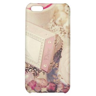 Vintage Dainty Flower Diamond Case Case For iPhone 5C