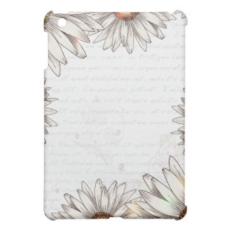 Vintage Daisies & Writing Case For The iPad Mini