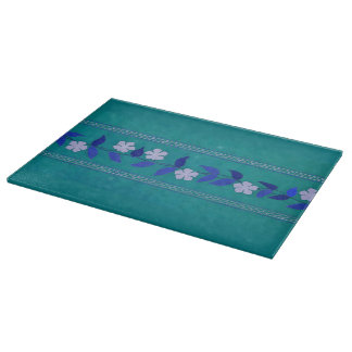 Vintage Daisy Flowers Floral Cutting Board