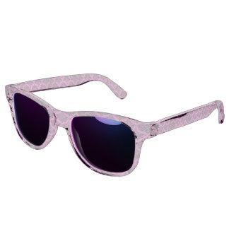 Vintage Damask Brocade Magenta Pink Sunglasses