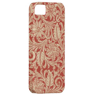 Vintage Damask Floral Red Case-Mate iPhone 5 Case For The iPhone 5