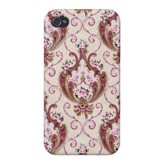 Vintage Damask iPhone 4 Cases