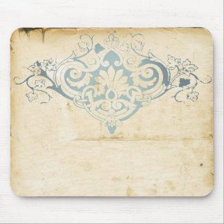 Vintage Damask Mouse Pad