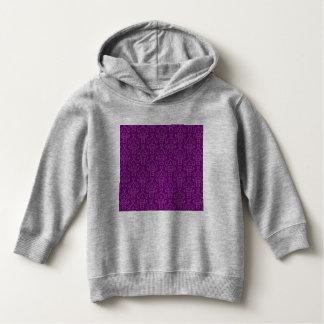 vintage Damask, purple Hoodie