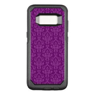vintage Damask, purple OtterBox Commuter Samsung Galaxy S8 Case