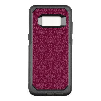 vintage Damask, red OtterBox Commuter Samsung Galaxy S8 Case