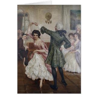 Vintage Dance - The Ballroom, Card
