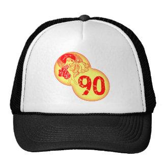 Vintage Dancer 90th Birthday Gifts Trucker Hat