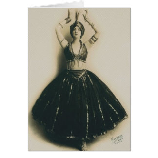 Vintage Dancer Card