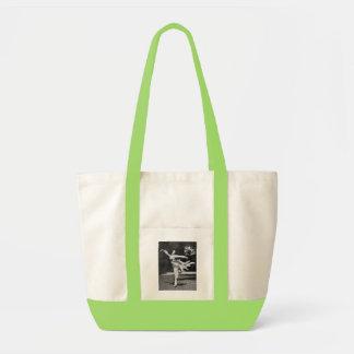 Vintage Dancer Tote Impulse Tote Bag