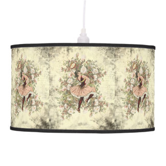 Vintage Dancing Gypsy Floral Mix and Match Pendant Lamp