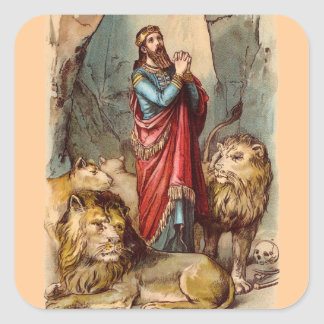 Vintage Daniel in the Lions Den Sticker