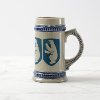 Vintage Danish Royal Coat of Arms of Greenland Beer Stein