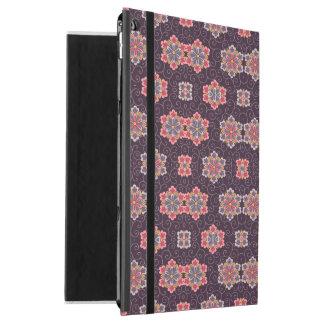 """Vintage Dark Purple with Flowers iPad Pro 12.9"""" Case"""