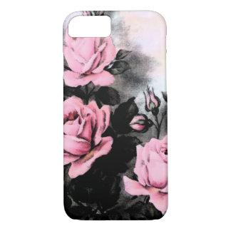 Vintage Dark Roses iPhone 7 Case
