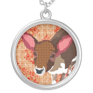 Vintage Darling Deer Necklace