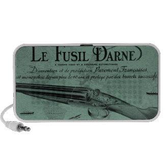 Vintage Darne Shotgun Portable Speakers (Green)