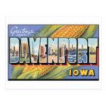Vintage Davenport, Iowa Postcard
