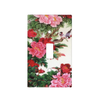 Vintage Dawn Of Spring Japanese Artwork Light Switch Cover