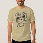 Vintage Day of the Dead Dancing Skeletons T Shirts