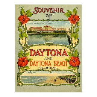 Vintage Daytona Beach Postcard