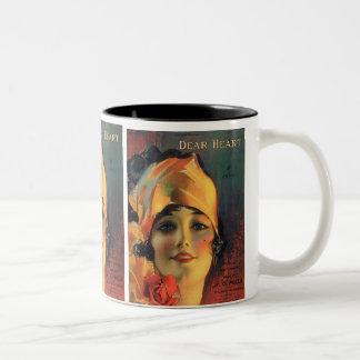 Vintage Dear Heart Coffee Mug