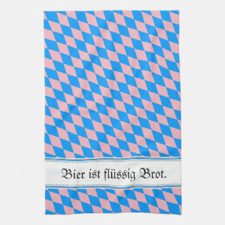 Vintage, decay and Bavarian! Kitchen Towel