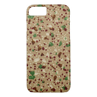 Vintage Decorative Paint Spatter Wallpaper Pattern iPhone 8/7 Case