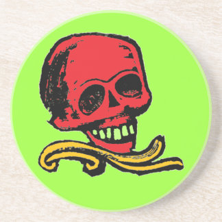 Vintage Decorative Skull Coaster