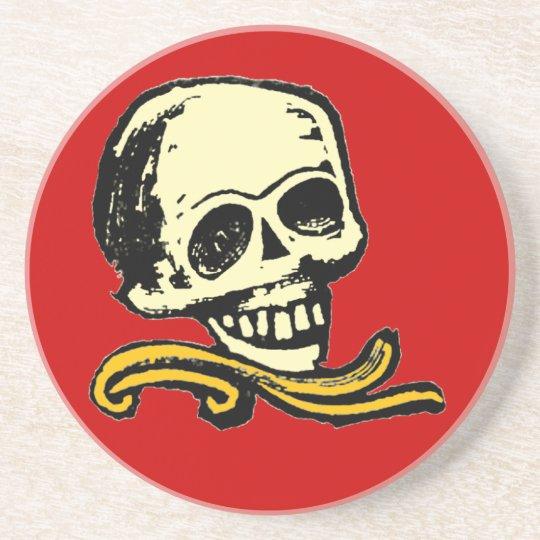 Vintage Decorative Skull Coaster