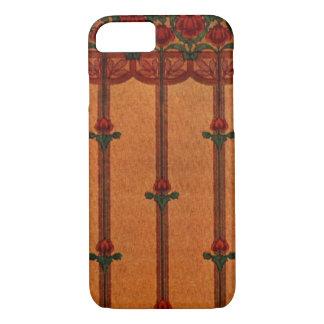 Vintage Decorative Textile Wallpaper Pattern iPhone 8/7 Case