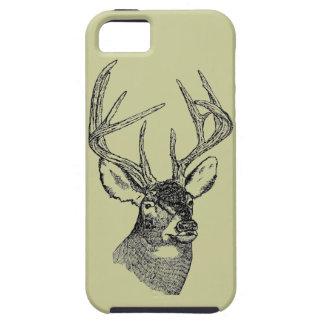 Vintage Deer big buck Case For The iPhone 5