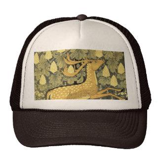 Vintage Deer Rabbit Chestnut Tree 1902 Trucker Hat