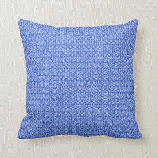 Vintage-Delicate-Blue-Lumbar-Square M-L Throw Pillow